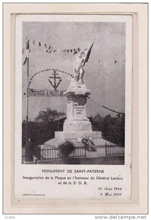 Saint-Paterne Sarthe Patern10