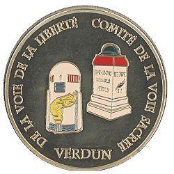 Verdun Meuse ( + Borne Voie de la Liberté ) Verdun11
