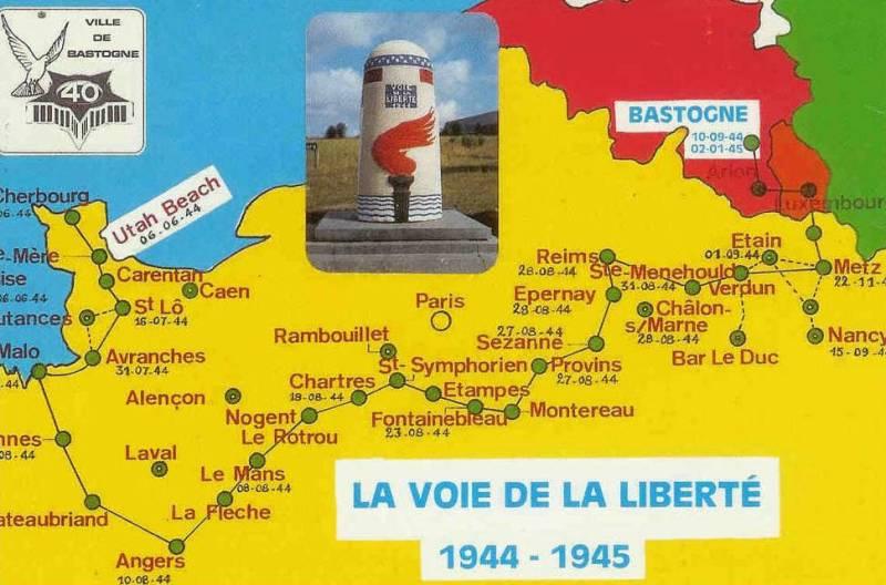 Verdun Meuse ( + Borne Voie de la Liberté ) Voie_d10