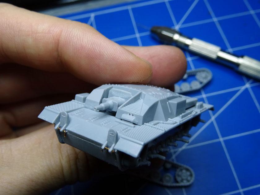 StuG III Ausf B [ Zvezda 1/100ème ] ( Terminé ) Dsc03210