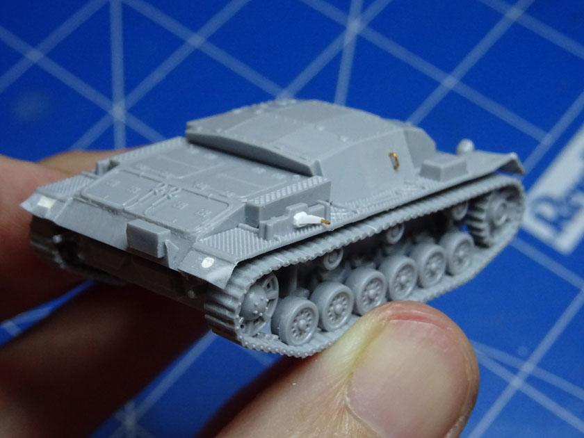 StuG III Ausf B [ Zvezda 1/100ème ] ( Terminé ) Dsc03214