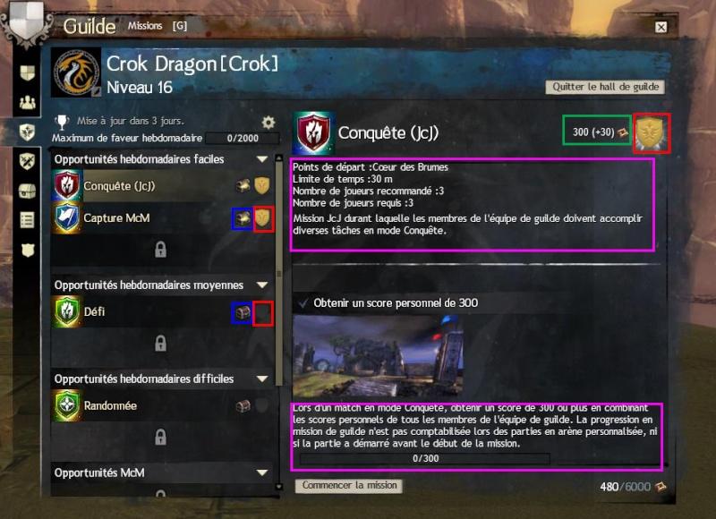 Nom de Code : Mission de Guilde. Mdg10