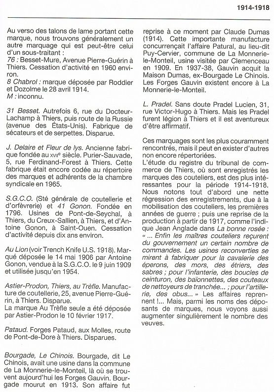Le Couteau poignard Mle 1916 - Page 2 Vengeu13