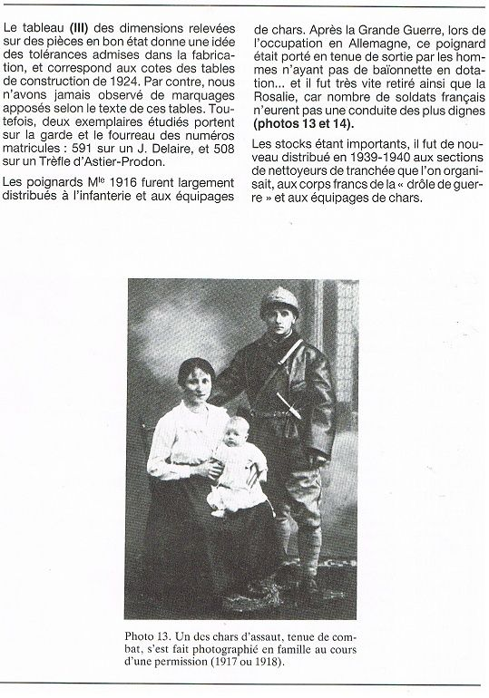 Le Couteau poignard Mle 1916 - Page 2 Vengeu17