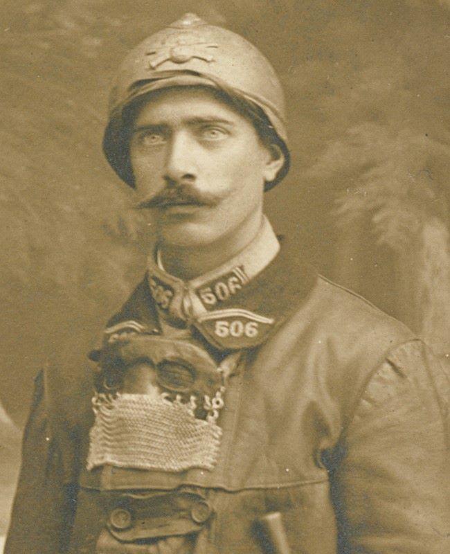 Masque de tankiste 1917 - 1918 44364913
