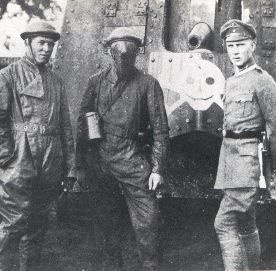 Masque de tankiste 1917 - 1918 44370413