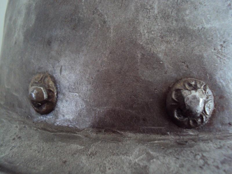 Casque cabasset XVI ème siècle Dsc03621