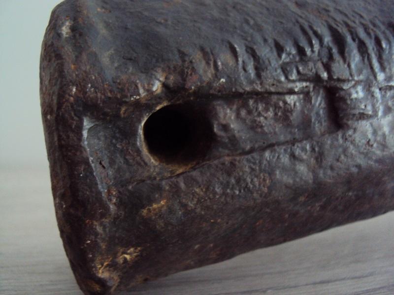 Mon trésor de Ciney : canon médiéval XV ème siècle Dsc05015