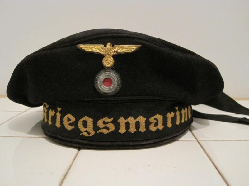 Recherche bachi et casquette de la Kriegsmarine Photo_10