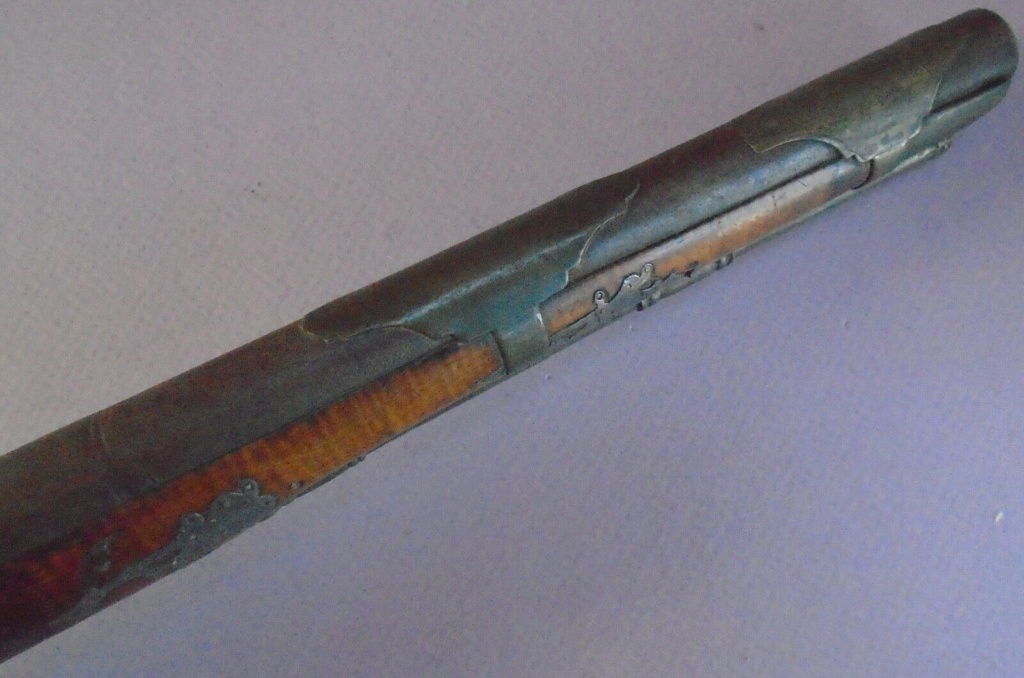 Long pistolet à silex fin 17ème début 18ème S-l16018