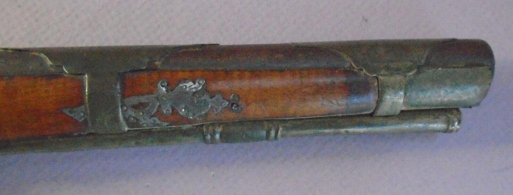 Long pistolet à silex fin 17ème début 18ème S-l16021