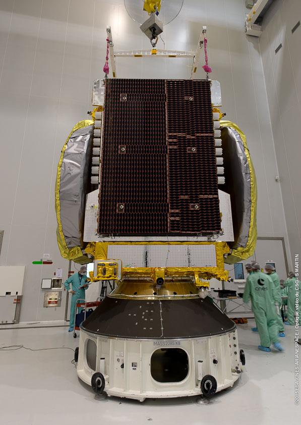 Lancement Ariane 5 ECA VA227 / ARABSAT 6B & GSAT 15 - 10 Novembre 2015  191