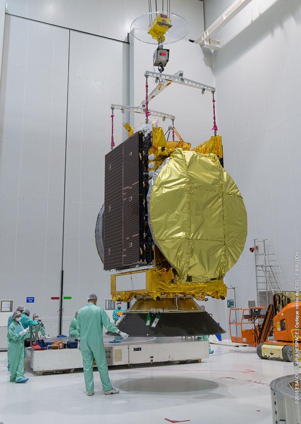 Lancement Ariane 5 ECA VA227 / ARABSAT 6B & GSAT 15 - 10 Novembre 2015  228