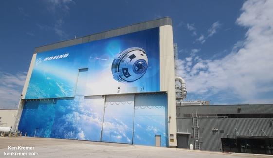 [Boeing] Suivi de la construction du Starliner  (CST-100) et du pas de tir LC-41 Screen33