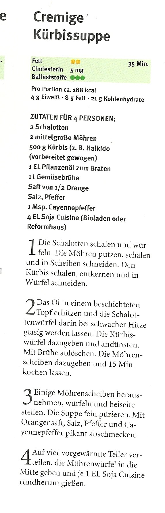 Kürbiscremesuppe Ur-Rezept Scan_p10