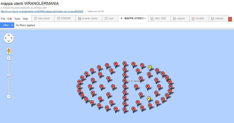 mappa lista ultimi 1000 utenti attivi creata dinamicamente - Pagina 5 Errori10