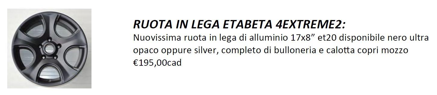 Consiglio Cerchi JK alluminio Etabet10