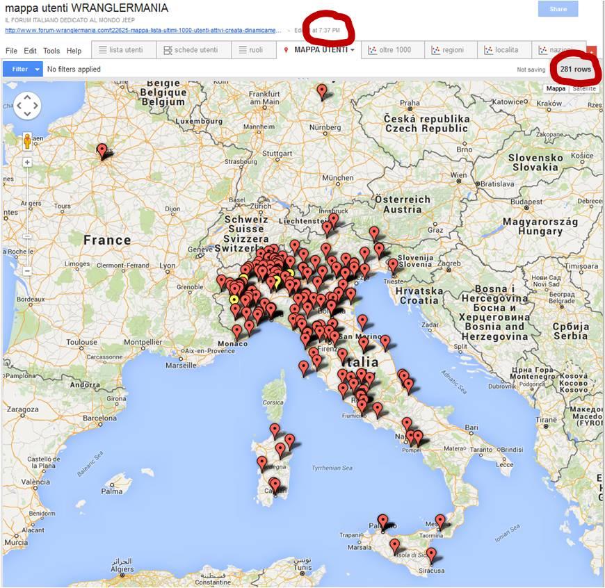 PROFILO e riga Località per consentire visualiz. su mappa utenti Mappa12