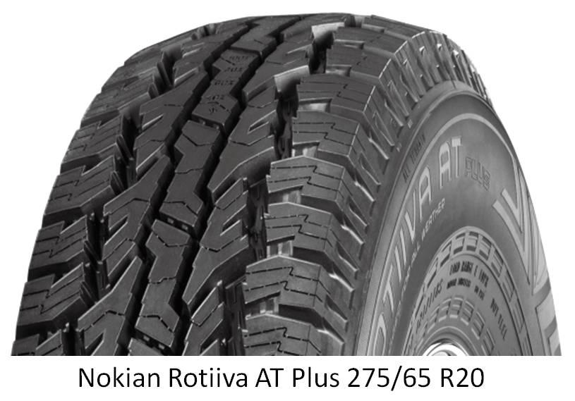 """confronto gomme stradali AT da 275/65R20 (34,1"""") con 315/70R17 (34,4"""") Nokian10"""