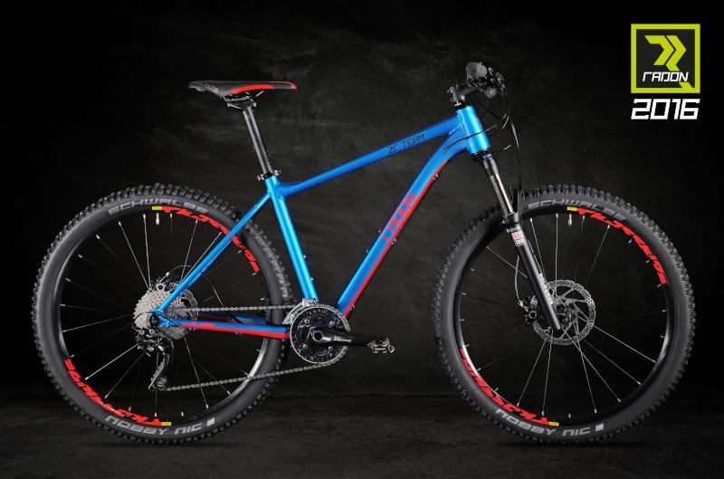 Les vélos Radon 2016zr10