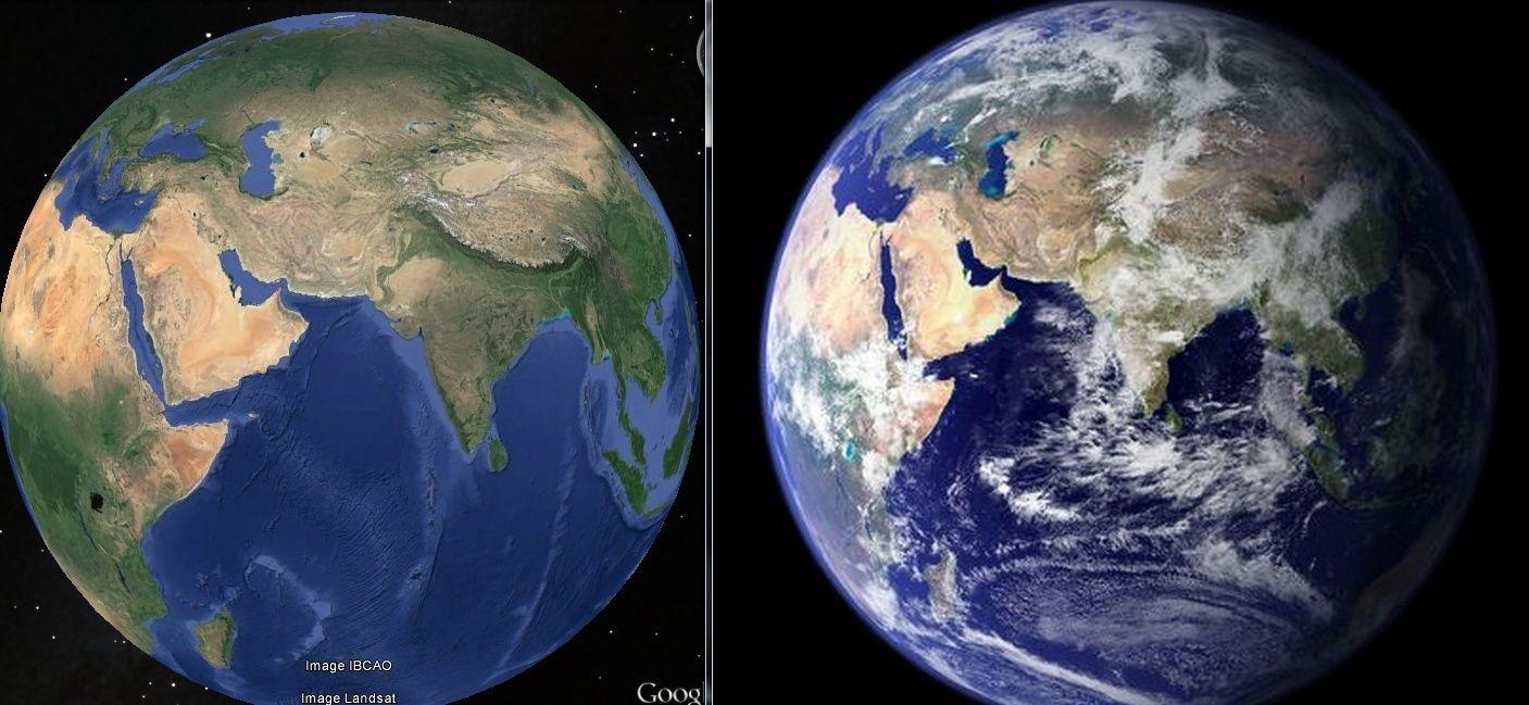 la majorité des cartes du monde sont fausses ( débat) - Page 2 Earth_10