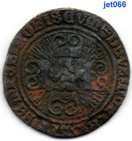 jeton de compte de Bourgogne aux briquets à identifier -  médiéval  Jet06624