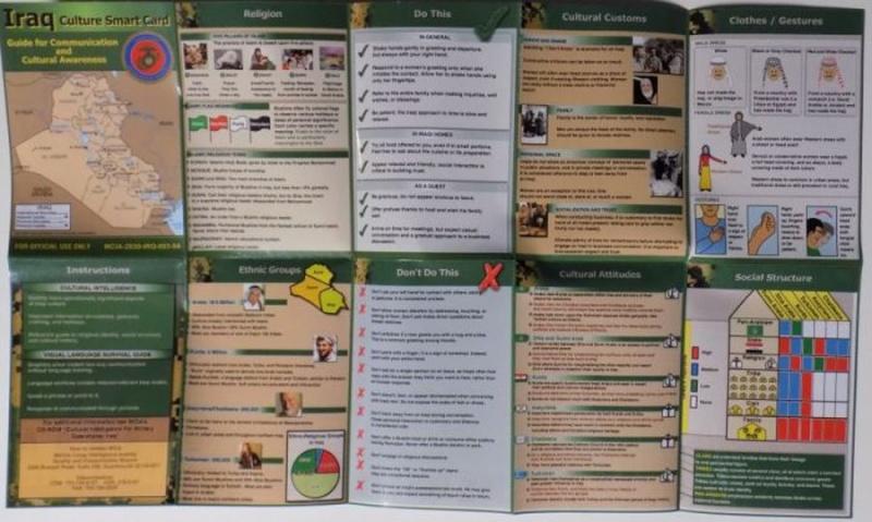 IRAQ CULTURE SMART CARD Cultur12