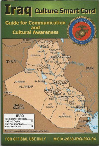 IRAQ CULTURE SMART CARD Iraq_s10