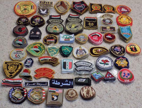 Iraqi Made Patch haul Patch_11