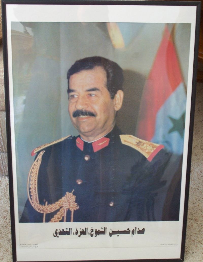Anyone got OIF posters? Saddam10