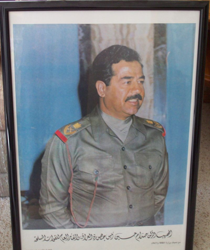 Anyone got OIF posters? Saddam11