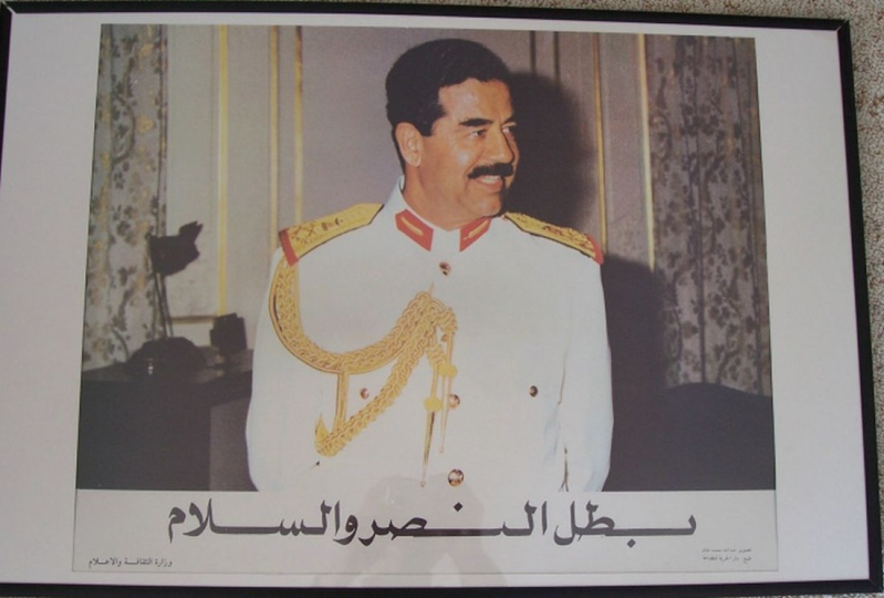 Anyone got OIF posters? Saddam12