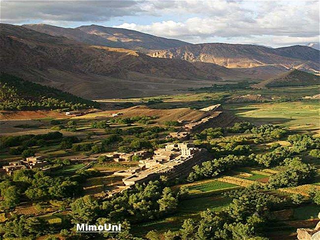 Azilal vallée Ait bouguemez carte photos et vue satellite Mimoun14