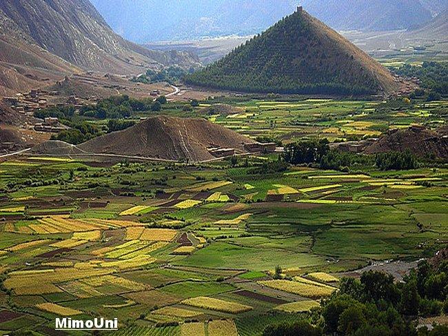 Azilal vallée Ait bouguemez carte photos et vue satellite Mimoun15
