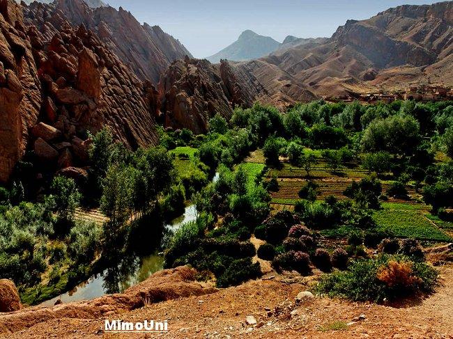 photos - Azilal vallée Ait bouguemez carte photos et vue satellite Mimoun16