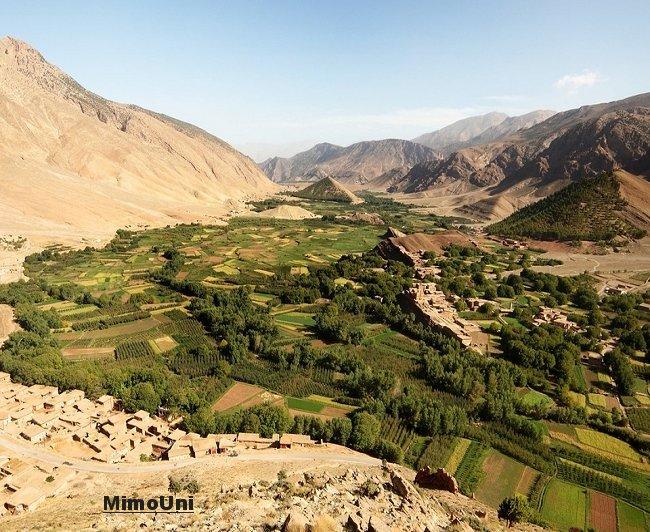 Azilal vallée Ait bouguemez carte photos et vue satellite Mimoun17