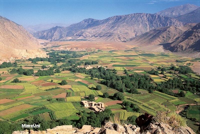 Azilal vallée Ait bouguemez carte photos et vue satellite Mimoun18