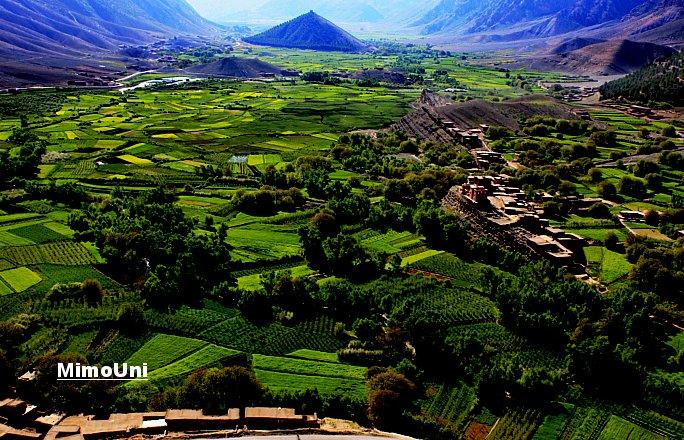 Azilal vallée Ait bouguemez carte photos et vue satellite Mimoun20