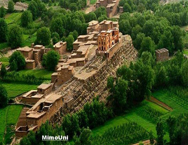 Azilal vallée Ait bouguemez carte photos et vue satellite Mimoun21