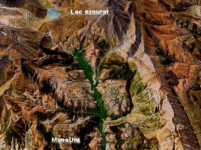 Azilal Ait Bouguemez ou quand la nature a son paradis terrestre Mimoun24