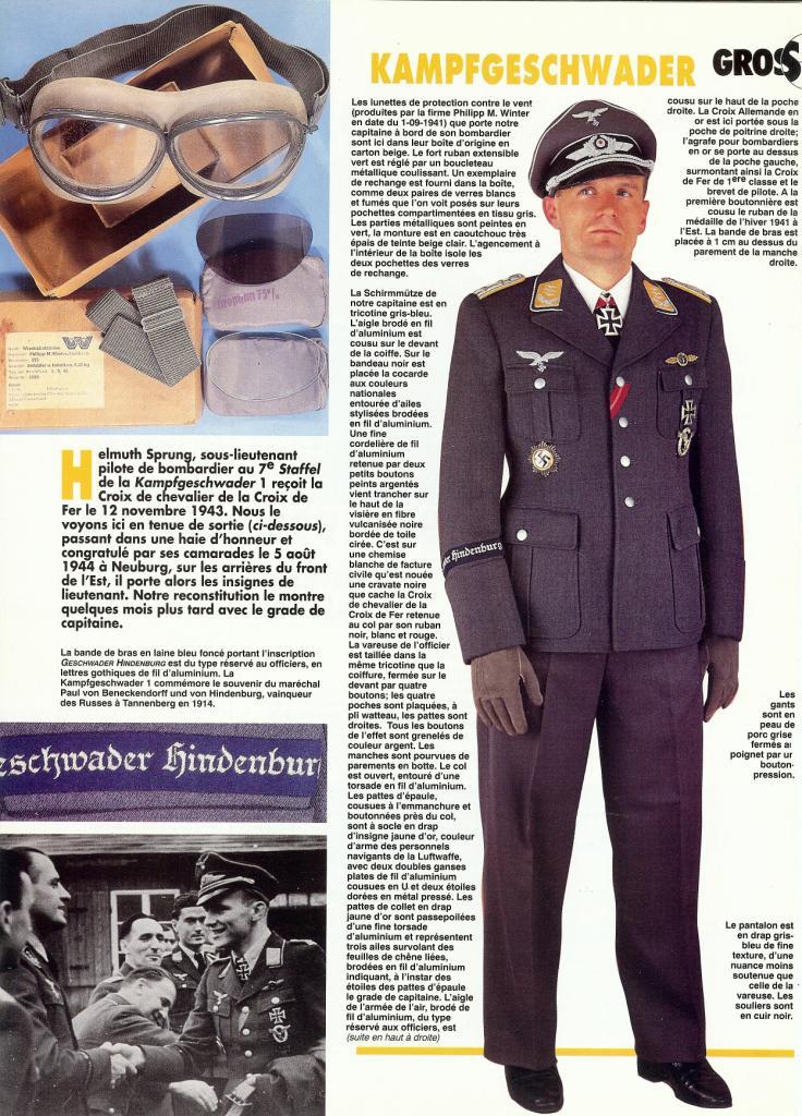 les tenues, quelques planches photo militaria Scan0119