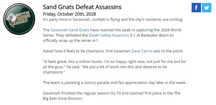 Sand Gnats Defeat Assassins Aaa10