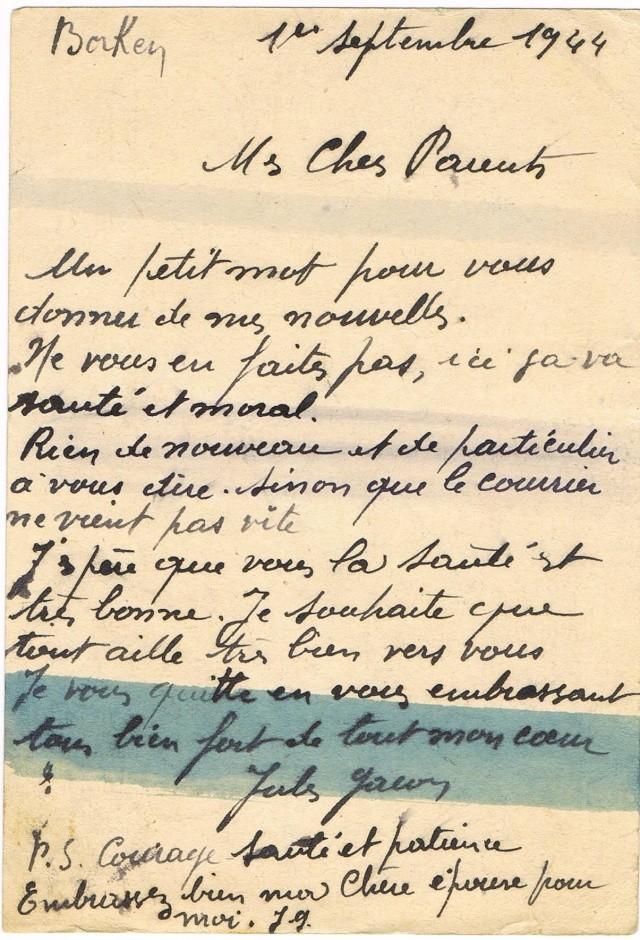 Tarif postal du 25 aout 1944 du Reich vers la France - méconnu des guichetiers et du peuples ?? Ccf11011