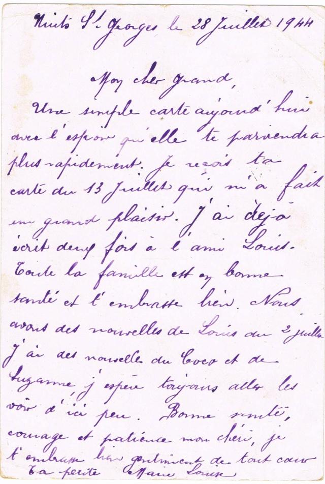 Les Tarifs postaux du décret n° 1558 du 23 juin 1944 entre la France et certains pays d'Europe.Texte du décret Ccf17112