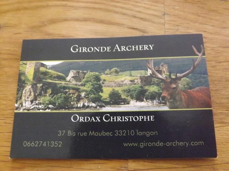nouveau magasin d'archerie sur langon Dscf2112
