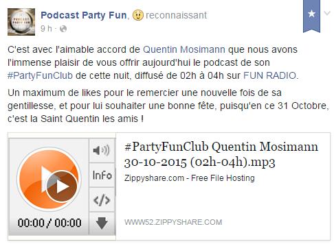 [30/10/2015] Fun Radio  Party Fun   Halloween Party - Dammartin sur Tigeaux - France Captu273
