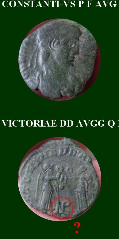 """Constance II """"VICTORIAE DD AVGG Q NN"""" pour Arles Bayard10"""