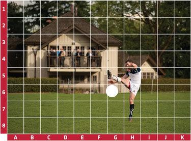 Spot the ball Spot-t15