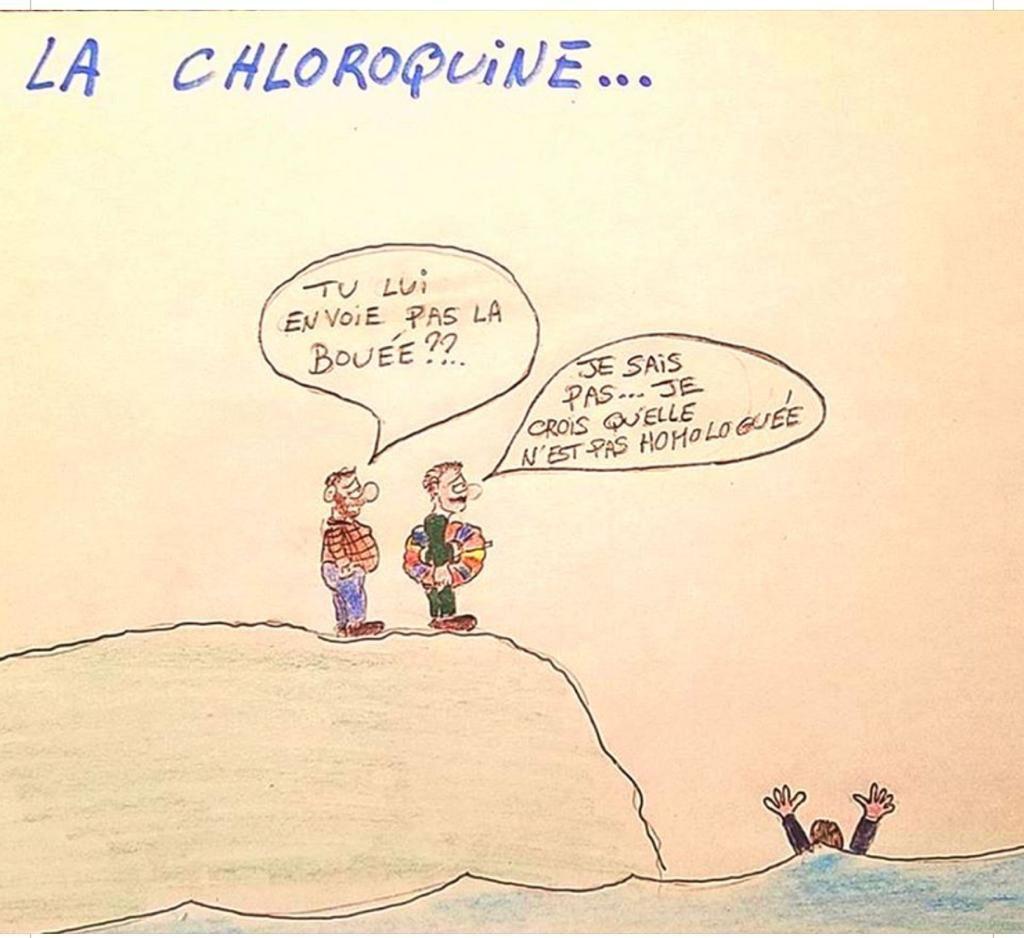 professeur Didier Raoult et la chloroquine Euhcqk10