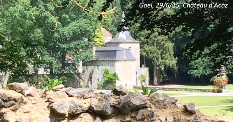 CR du 29-6-15, à l'assaut des châteaux pour Gaël... 1912